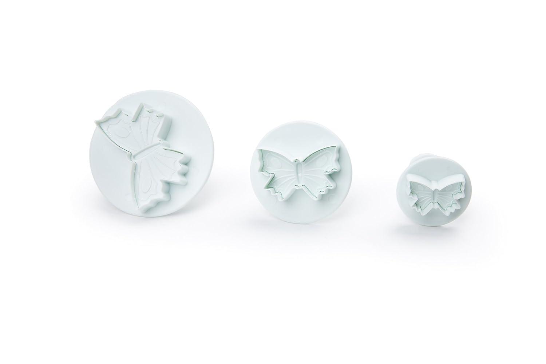 Fox Run 67034 Butterfly Plunger Cutters, Plastic, 3-Piece Fox Run Craftsmen