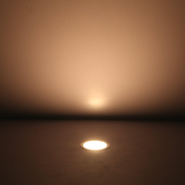 QACA 20er LED Einbauleuchten Bodeneinbaustrahler Blau Deckenspot Einbaustrahler Deckenleuchte Wasserdicht IP67 Einbaulampe 0.6W /Ø30mm Au/ßenleuchten f/ür K/üche Garten Treppen Balkon Terrasse