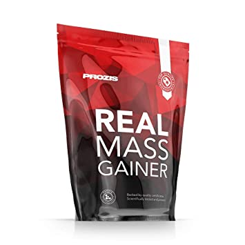 Prozis Real Mass Gainer, Galletas y Crema - 2722 gr