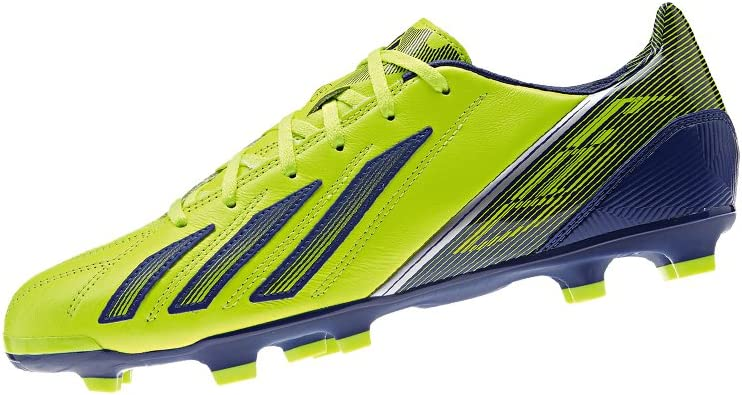 mostaza Mitones Espectador  adidas F30 TRX FG LEATHER Yellow Blue Men Leather Football Shoes:  Amazon.co.uk: Sports & Outdoors