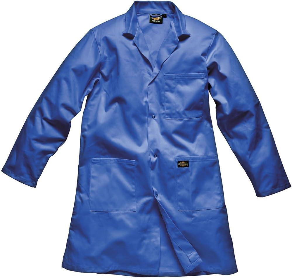 L Mens Workwear Dickies Redhawk Warehouse Coat Navy Blue