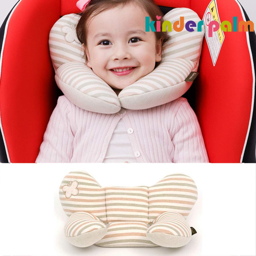 Head and Neck Support Baby Pillow L line Butterfly Solid Networks Co. Ltd.
