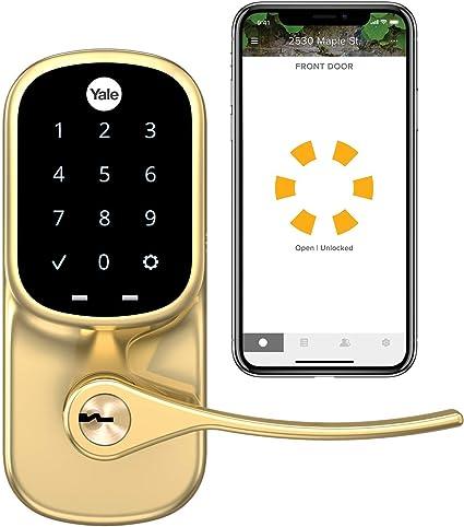YRD-226 Yale Assure Touchscreen Smart Lock w//Amazon Cloud Camera!!