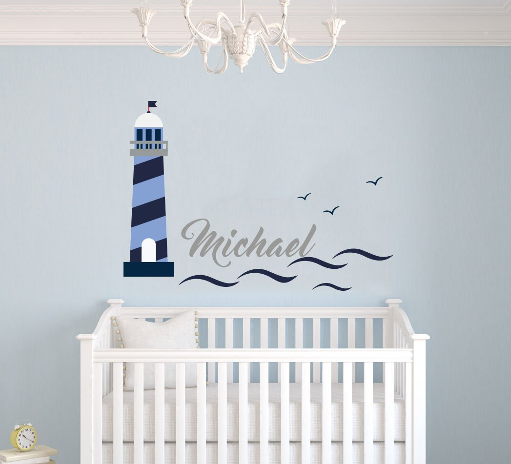 nautical theme baby room