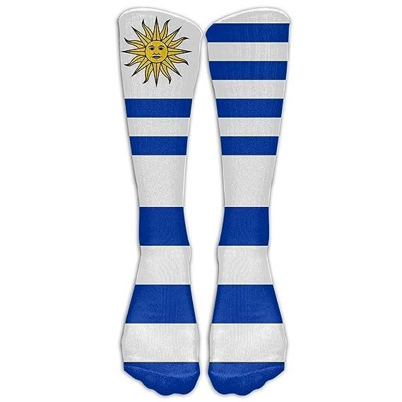 hat pillow Uruguay Flag Youth Boys Girls Crew Socks Thin Socks Casual Socks For Daily Life