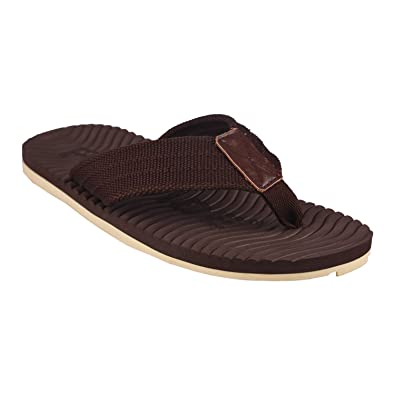 Flipside Mens Comfy Brown Slippers buy cheap outlet store LZcrvW
