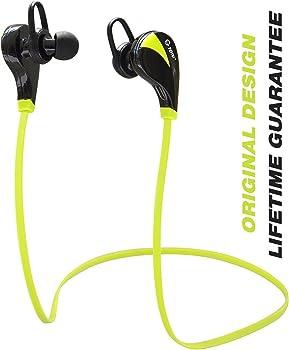 TOTU Bluetooth In-Ear Sweatproof Headphones w/Mic