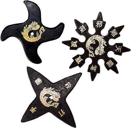 Amazon.com : Ninja Stars - A Dozen Rubber Stars : Martial ...
