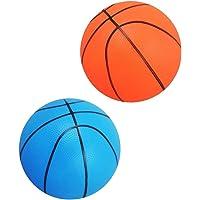D Dolity 2 Unidades Mini Bola Baloncesto de PVC Plástico Juguete de  Deportes para Interiores  a4efd0eedb9e