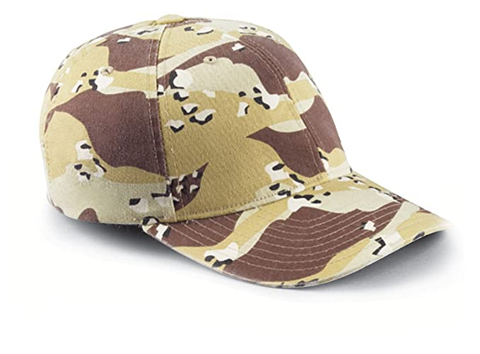 2293dbcef2e Amazon.com  Flexfit Yupoong Garment-Washed Camouflage Cap  Clothing