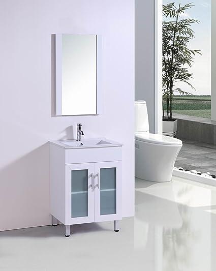 belvedere designs tm8101 modern bathroom vanity with ceramic