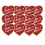 5/8 Inch I Make A Difference Lapel Pin - Package of 12, Poly Bagged