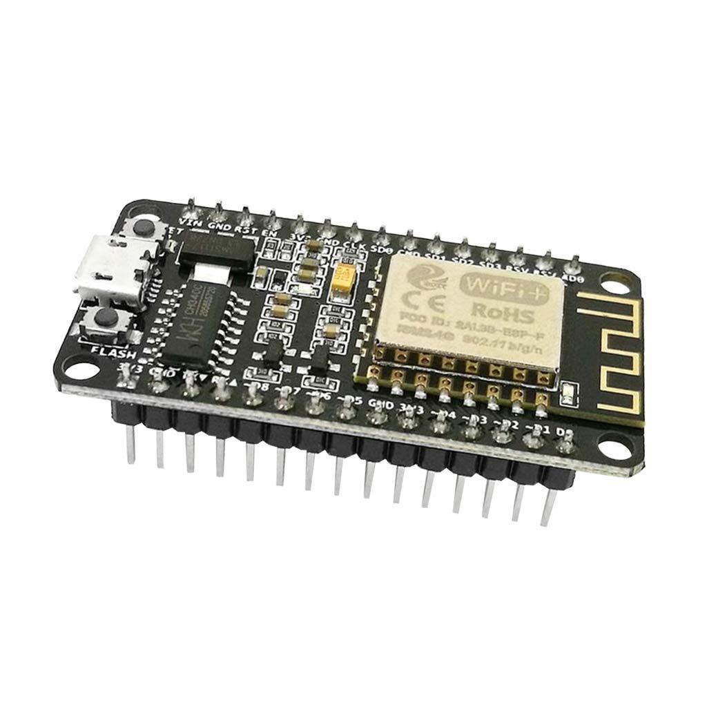 Homyl ESP8266 Carte de D/éveloppement de Module Sans Fil S/érie WiFi ESP12E #1