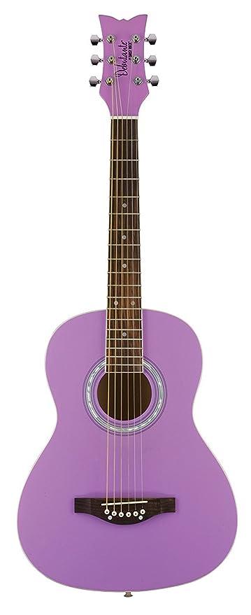Daisy Rock DR7401 - Guitarra acústica para mujer, color morado
