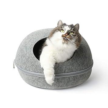 Therm La Mode - Cama de Fieltro Hecha a Mano para Mascotas, con diseño de