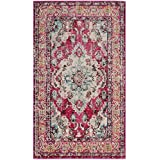 Safavieh Monaco Collection MNC243D Pink and Multi Area Rug, 2 #39;2 quot; x 4 #39;