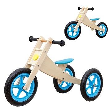 Kinderfahrzeuge Kinderlaufrad Bikestar Natur Holz 7 Zoll Laufrad Kinder Fahrrad ab 2 Jahren