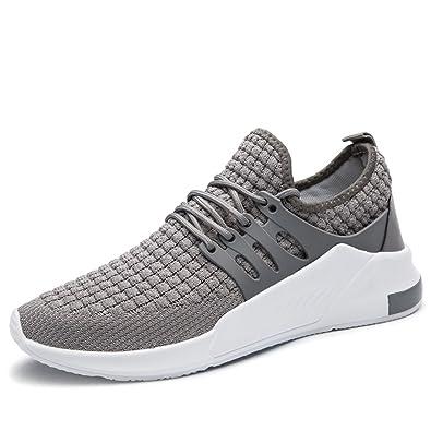 MUOU Herren Sneaker Breathable Bequeme Wanderschuhe