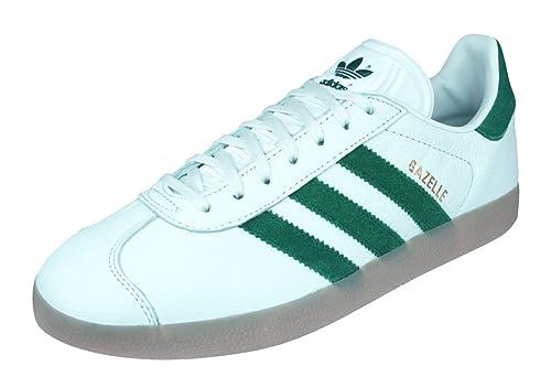 adidas Originals Gazelle, Zapatillas Unisex Adulto, Blanco (Vinwht/Cgreen/Gum4), 42 EU: Amazon.es: Zapatos y complementos