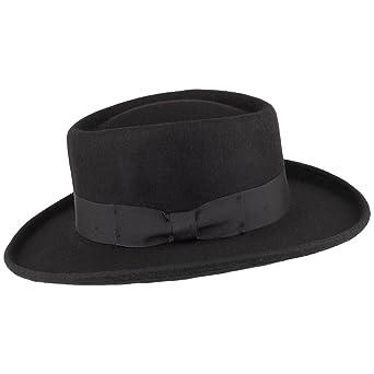 539c90ff00c Amazon.com  Jaxon Hats Wool Gambler Hat  Clothing