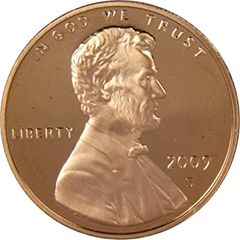 Mint Copper Coin 1c from Proof Set 1976 S Lincoln Penny One-Cent Proof U.S