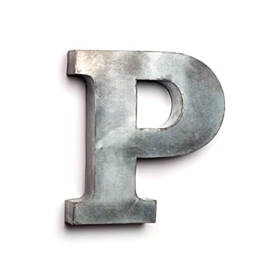 The Country House Collection Tin Letters (P)