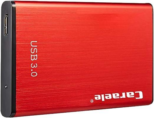 B Baosity ポータブル アルミ 外付けハードドライブディスク USB3.0 2.5インチSATA HDD 高速 - 500GB