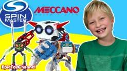6031222 Jeu de Construction Meccano Micronoid Rouge//Blanc