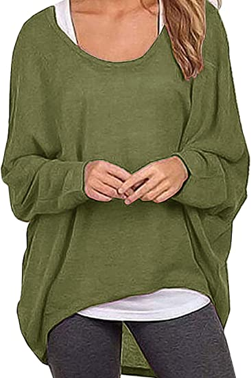 NEW Womens Oversized Batwing Allie Asymmetric Soft Touch Denim Shirt Tunic Top