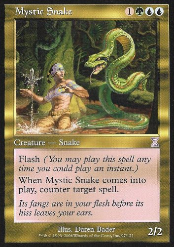 Magic the Gathering: Mystic Snake - Time Spiral Time (Mystic Snake)