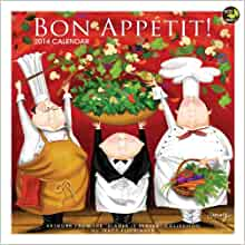 2014 Bon Appetit! Wall Calendar: TF Publishing