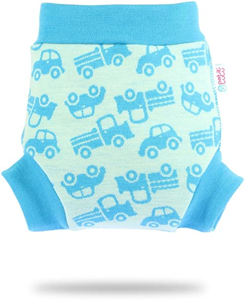 Petit Lulu woll/über Pantalon Taille M 100/% laine merino
