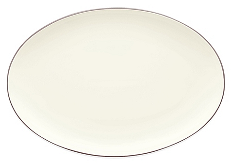 Noritake® Colorwave 16-Inch Oval Platter in Clay - BedBathandBeyon​d.com