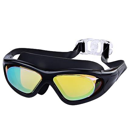 3a3287074e Amazon.com   LETSQK Adjustable Swimming Goggles Premium UV ...