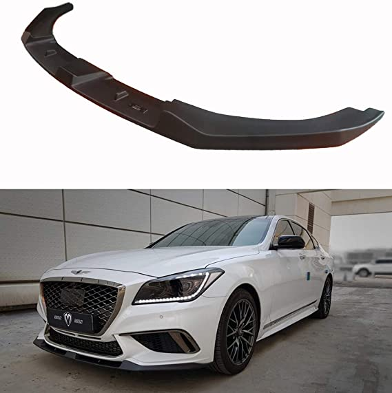 LIGHTKOREA Rear Wing Trunk Spoiler Glossy Black For Hyundai Genesis G80 2015 2016 2017 2018
