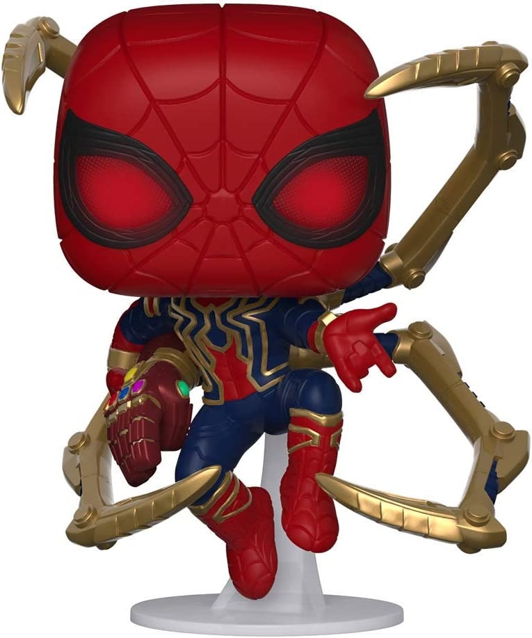 Amazon.com: Funko Pop. Marvel: Avengers Endgame - Araña de ...