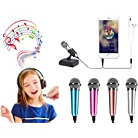 Mini Microphone Mini Portable Vocal/Musical Instrument Microphone Mobile Notebook Computer Notebook Apple iPhone Samsung…