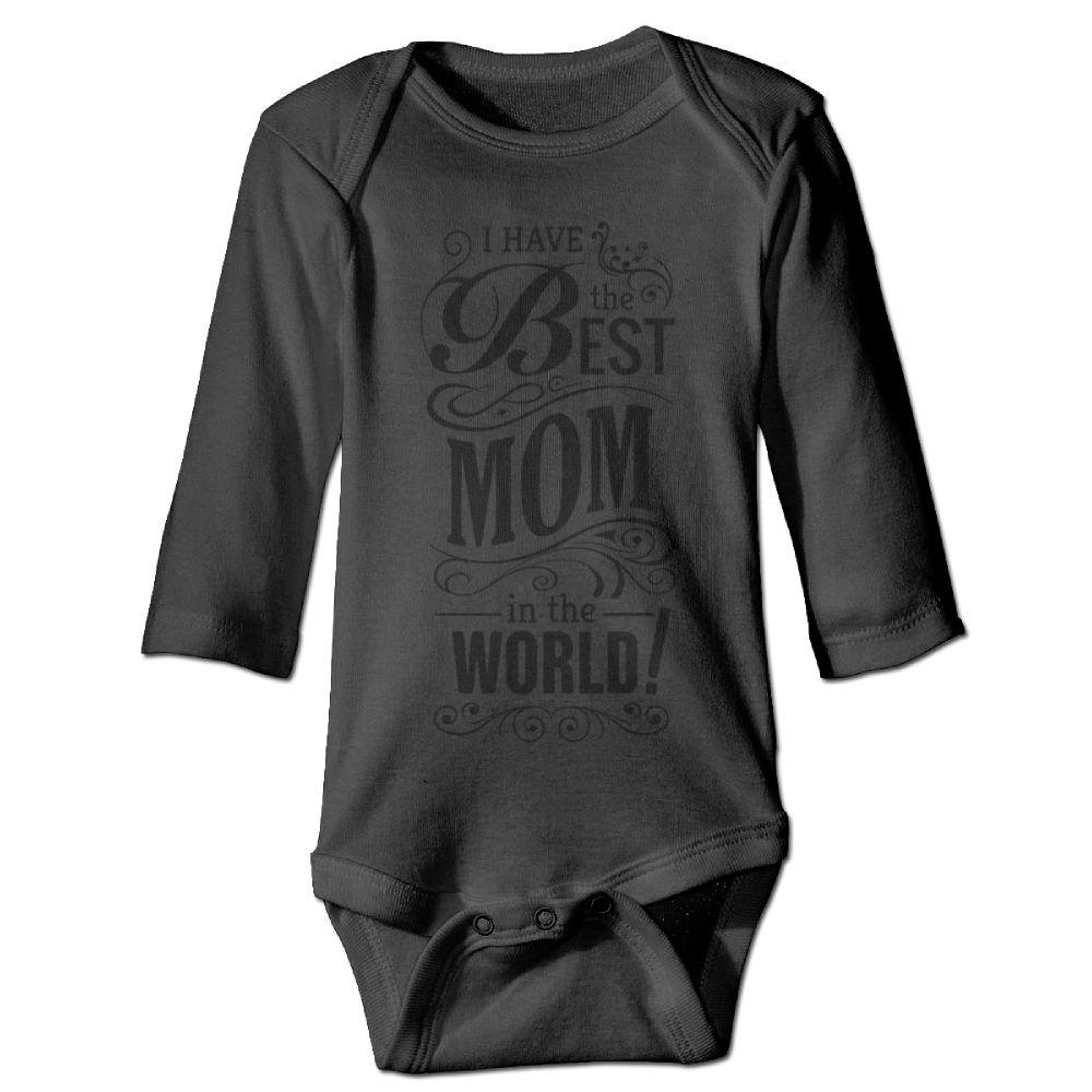 Midbeauty Have Best Mom Newborn Cotton Jumpsuit Romper Bodysuit Onesies Infant Boy Girl Clothes