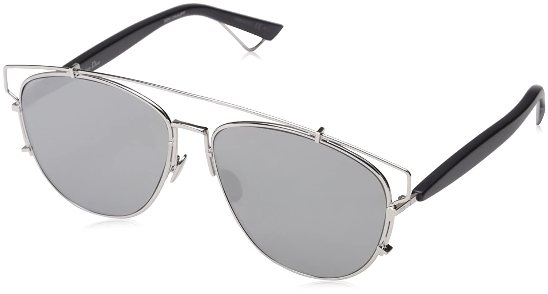 610426b5df3f Amazon.com  Dior Sunglasses Dior Technologic Sunglasses 84J0T Silver   Black  57mm  Sports   Outdoors