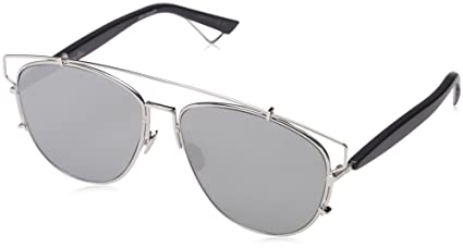 9e30c17e85f83 Amazon.com  Dior Sunglasses Dior Technologic Sunglasses 84J0T Silver ...