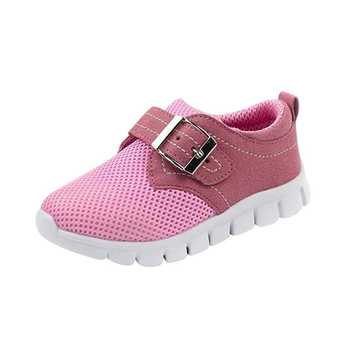 WINWINTOM Zapatos para Bebé, 2018 Unisex Niños Moda Zapatillas, Niñito Niños Deporte Corriendo Bebé Zapatos Chicos Chicas Aire Malla Zapatillas: Amazon.es: ...