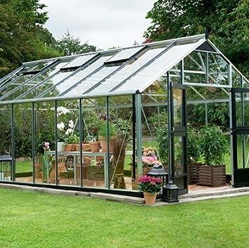 Serre en verre horticole Gardener 21,4m² ...