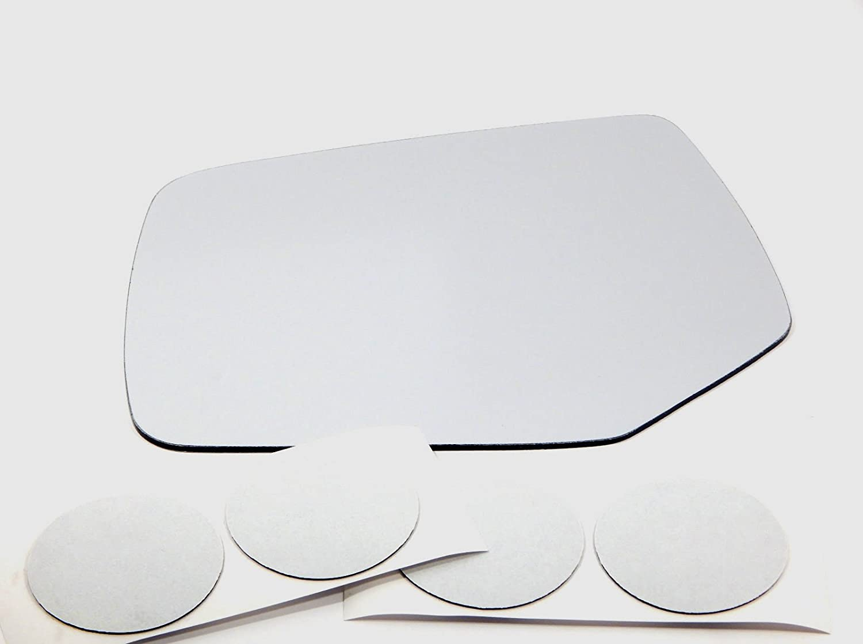 Fits 08-12 Escape Mariner Right Passenger Mirror Glass Lens Convex w//adhesive