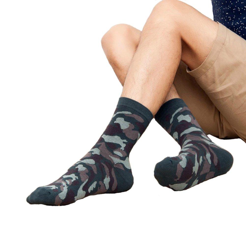 Cosanter 1 Paire Unisexe Chaussette en Coton Camouflage Amoureux Socquette 3b3786422fb