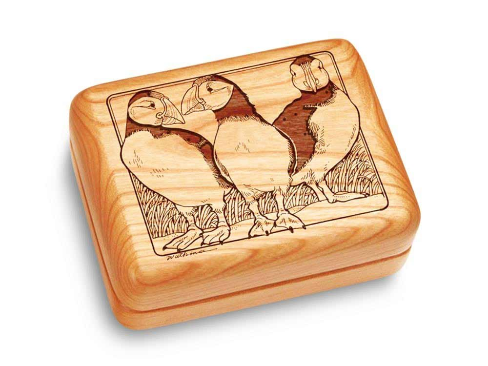 Music Box 4x3'' - Puffins - Fur Elise
