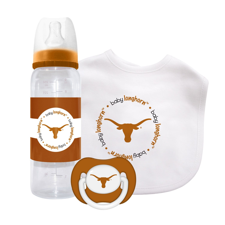 Caseys Distributing 1279901382 Texas Longhorns Baby Gift Set   B004JYGVK6