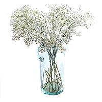 Miracliy 6Gladiolen yapay çiçekler 66cm PU bebek esinti yapay çiçekler düğün parti Home Decor için