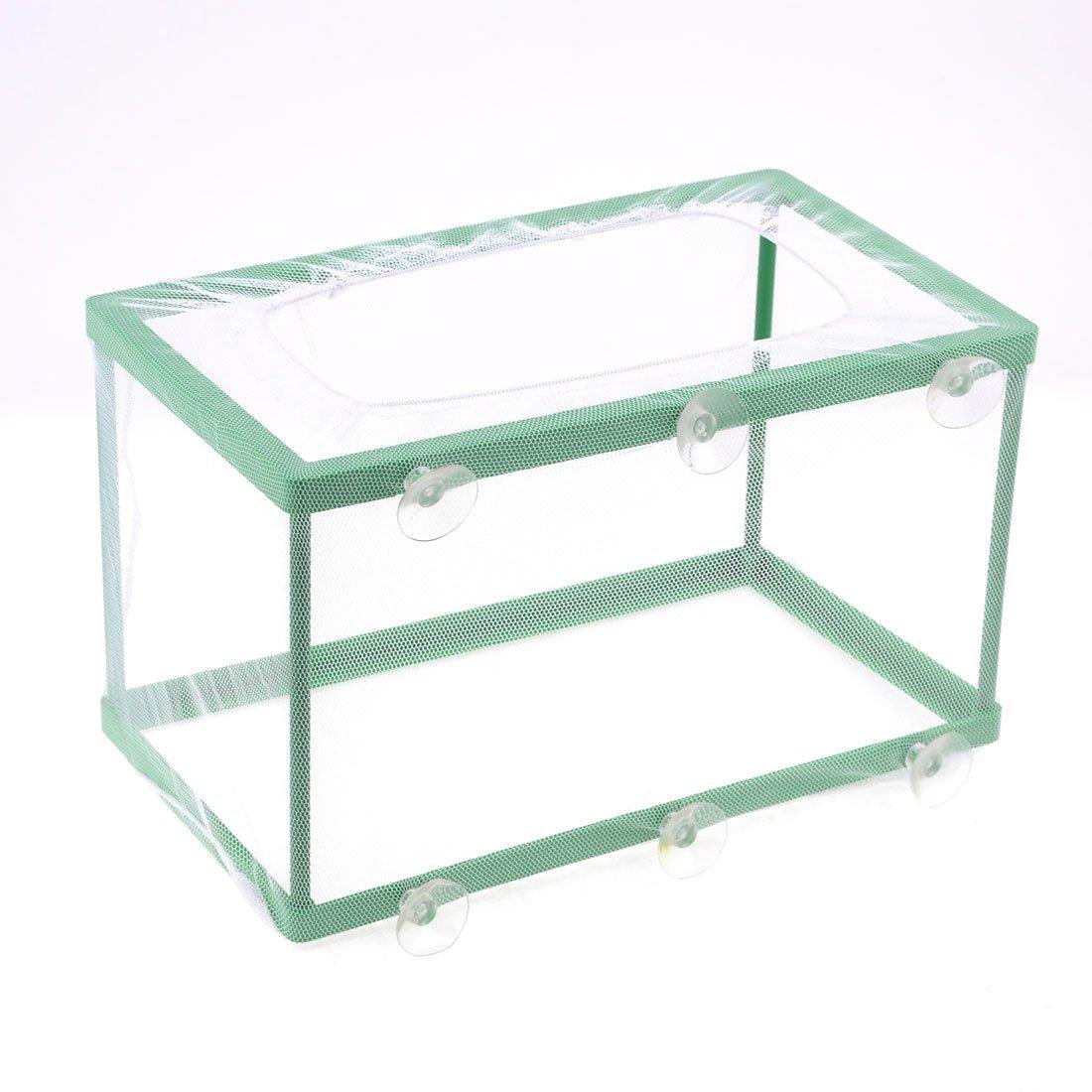 Sourcingmap Pondoir avec filet pour aquarium Blanc/vert a13072900ux1499