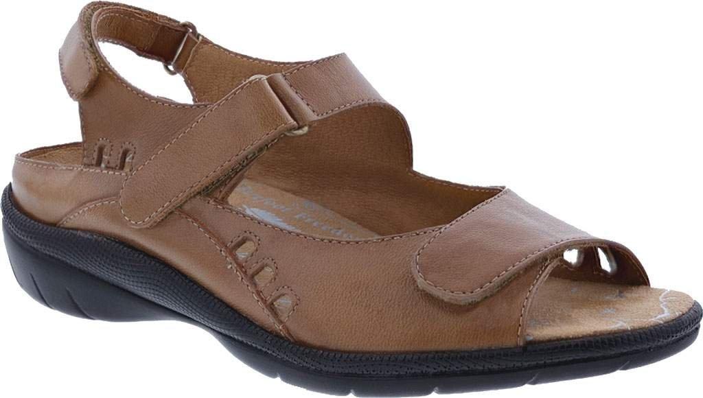 Drew Tide Women's Sandal B01LXUNVA9 6 C/D US|Cognac Leather