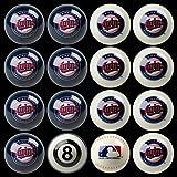 Imperial Minnesota Twins MLB Home vs. Away Billiard Balls Full Set (16 Ball Set) International